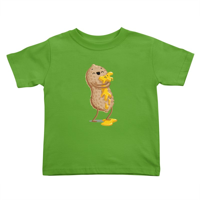 Peanut'n Butter Kids Toddler T-Shirt by T2U