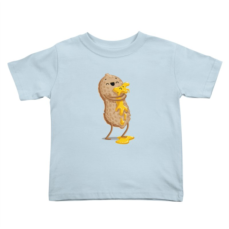 Peanut'n Butter Kids Toddler T-Shirt by Tiago Möller Art Shop