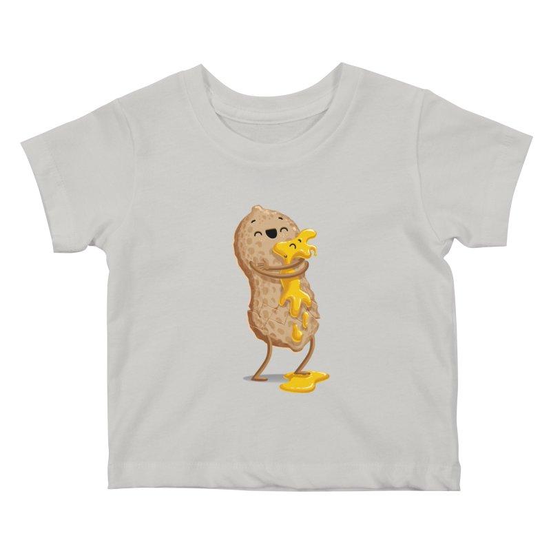 Peanut'n Butter Kids Baby T-Shirt by Tiago Möller Art Shop