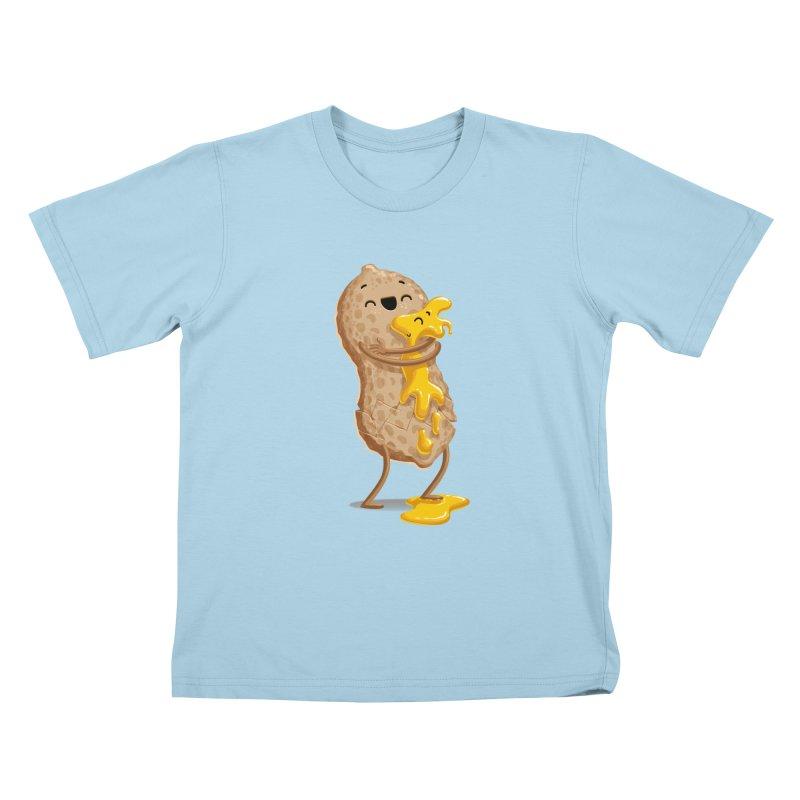Peanut'n Butter Kids T-shirt by Tiago Möller Art Shop