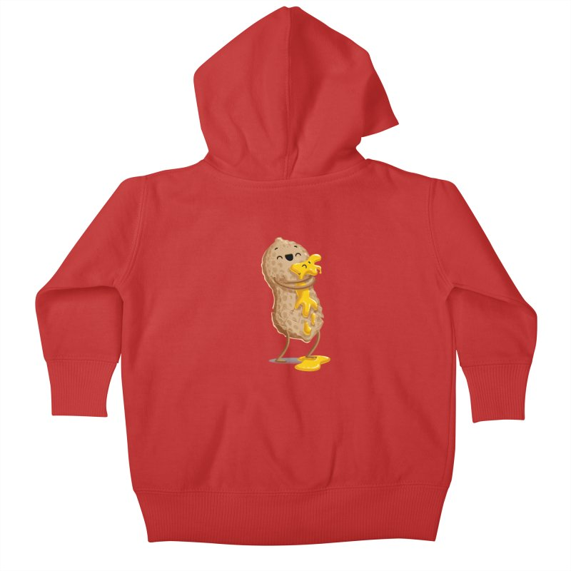 Peanut'n Butter Kids Baby Zip-Up Hoody by T2U