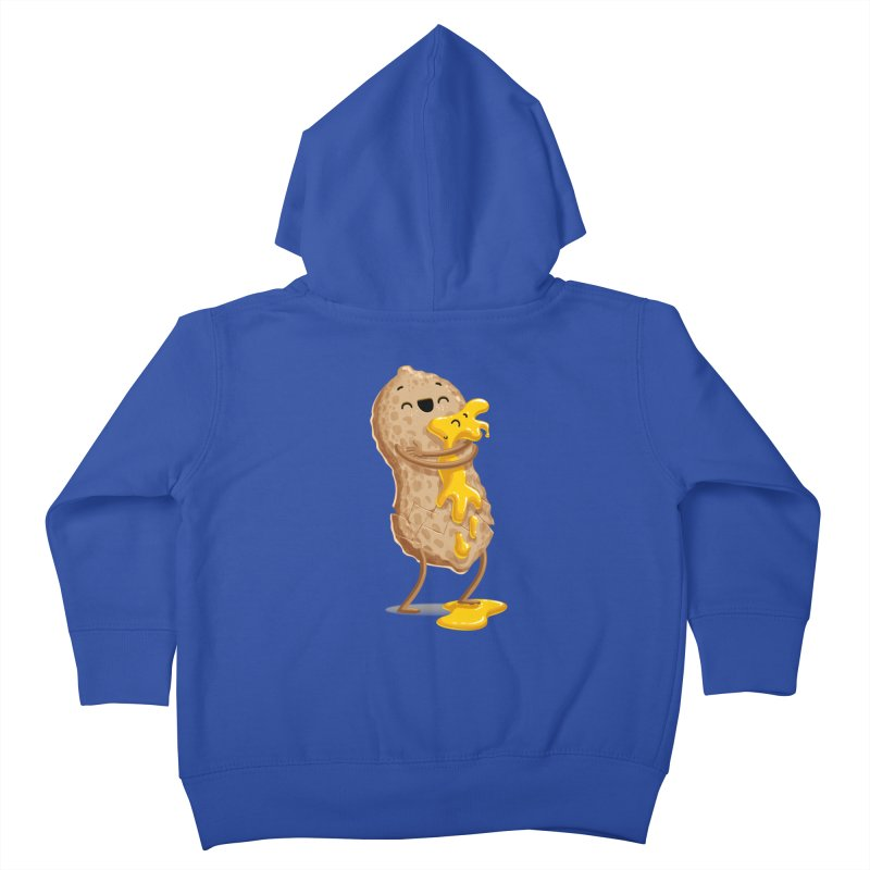 Peanut'n Butter Kids Toddler Zip-Up Hoody by T2U