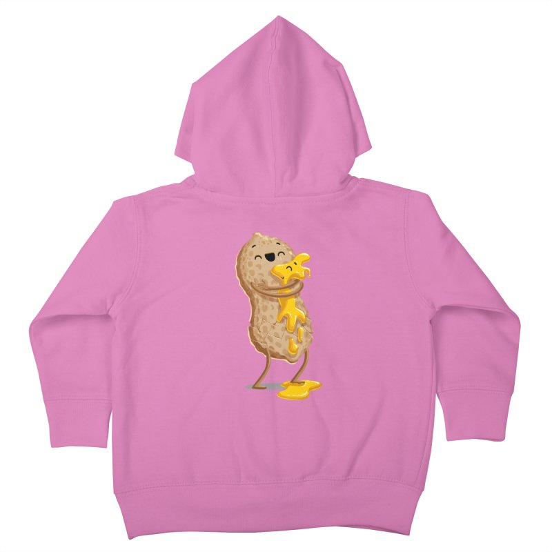 Peanut'n Butter Kids Toddler Zip-Up Hoody by T2U