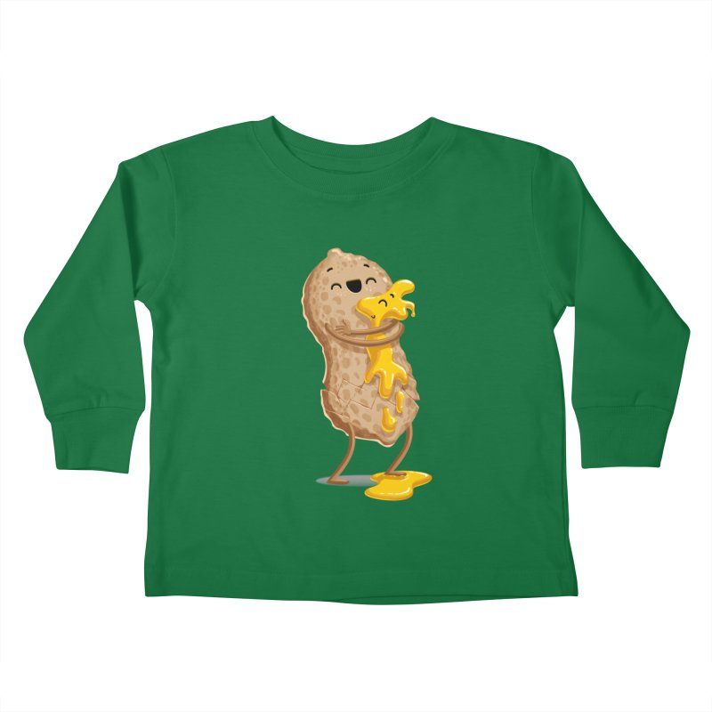 Peanut'n Butter Kids Toddler Longsleeve T-Shirt by T2U