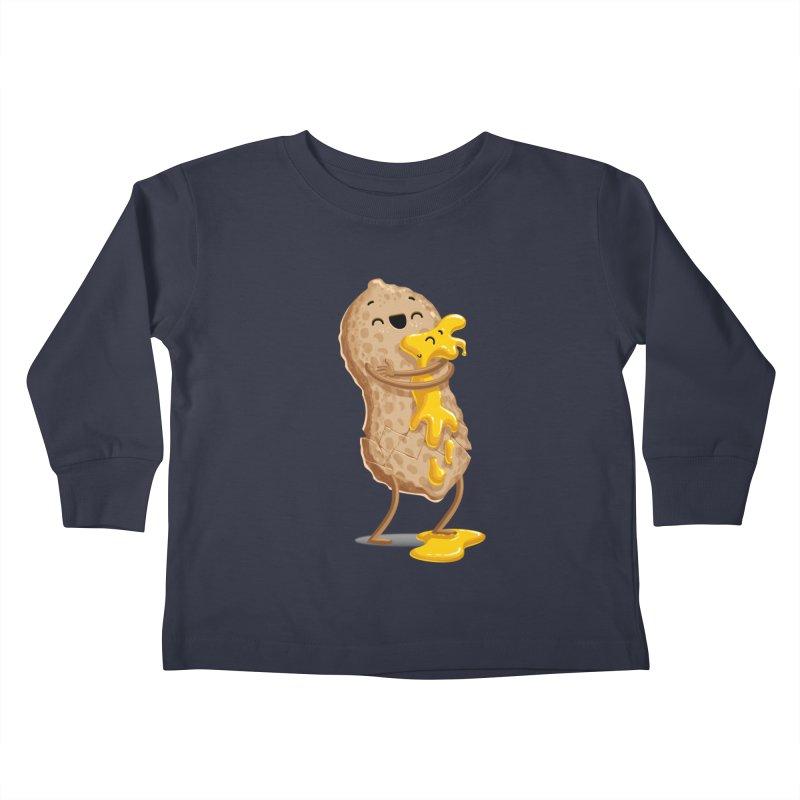 Peanut'n Butter Kids Toddler Longsleeve T-Shirt by T2U