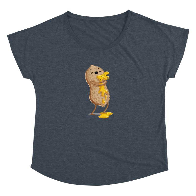 Peanut'n Butter Women's Dolman by Tiago Möller Art Shop