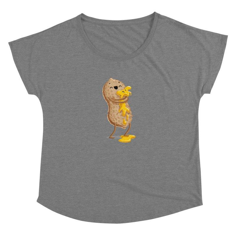 Peanut'n Butter Women's Scoop Neck by T2U
