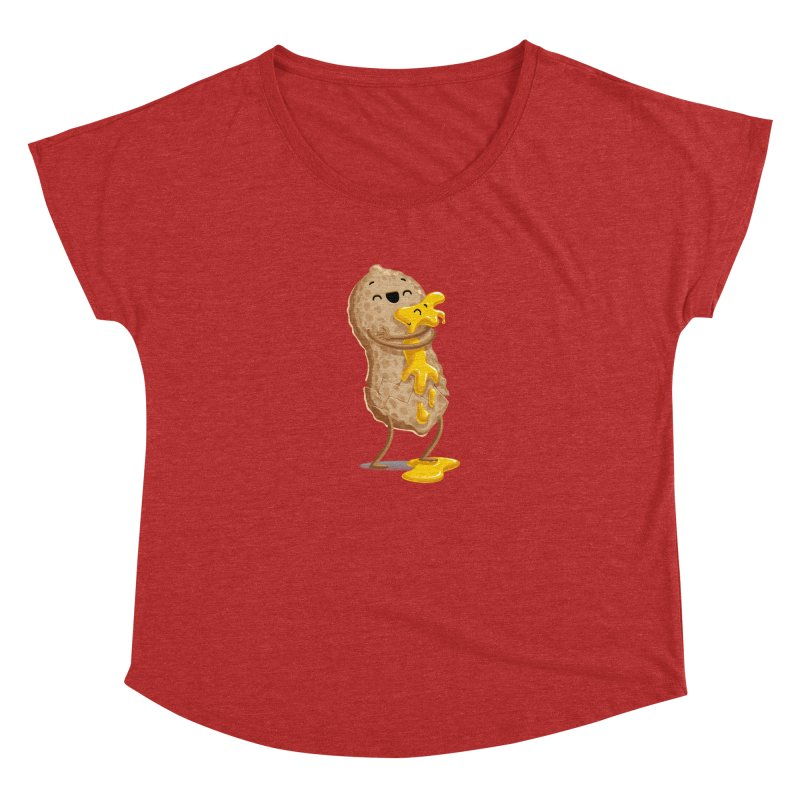 Peanut'n Butter Women's Scoop Neck by T2U