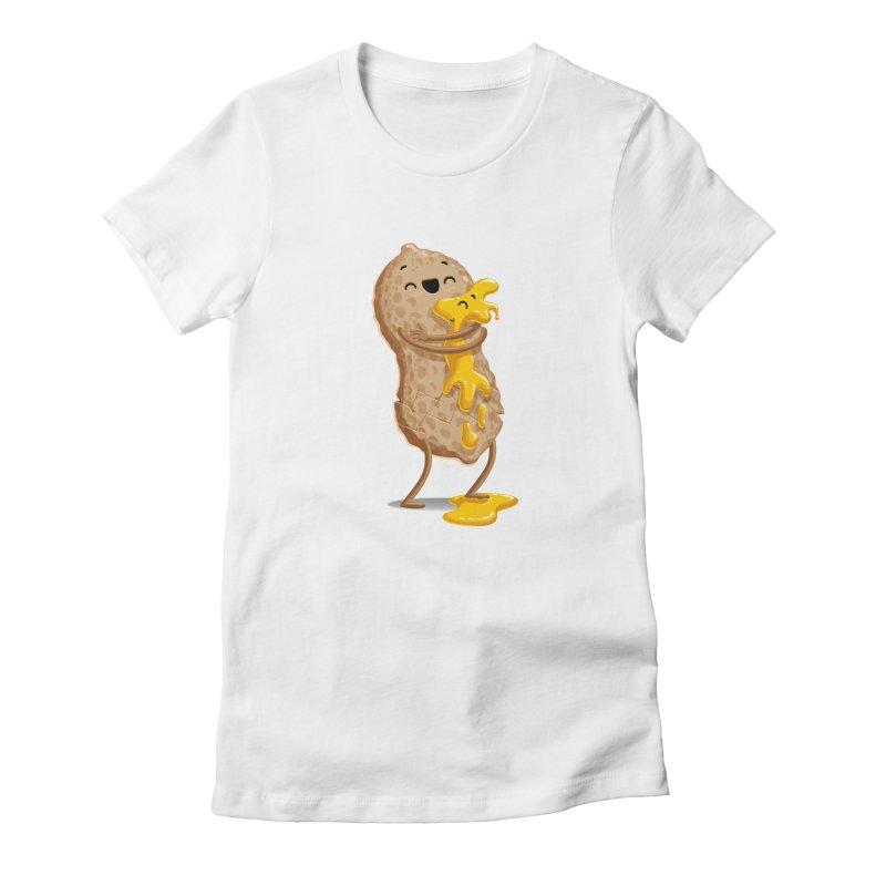 Peanut'n Butter Women's Fitted T-Shirt by T2U