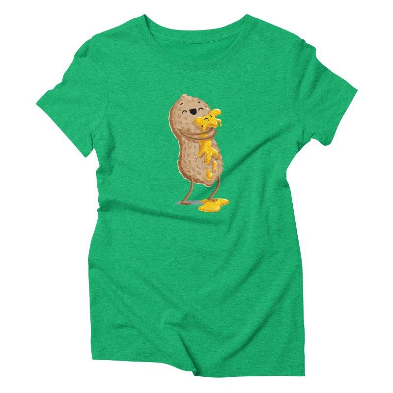 Peanut'n Butter Women's Triblend T-Shirt by T2U
