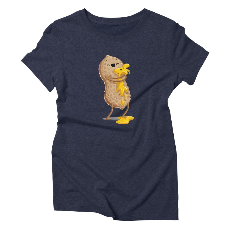 Peanut'n Butter Women's Triblend T-shirt by Tiago Möller Art Shop