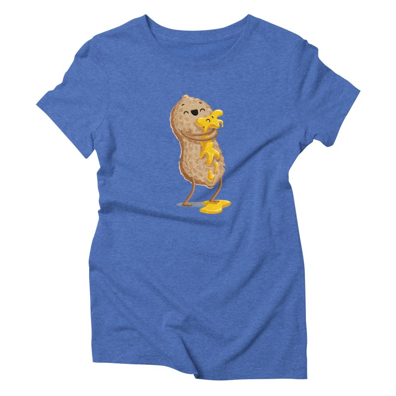 Peanut'n Butter Women's Triblend T-Shirt by T2U