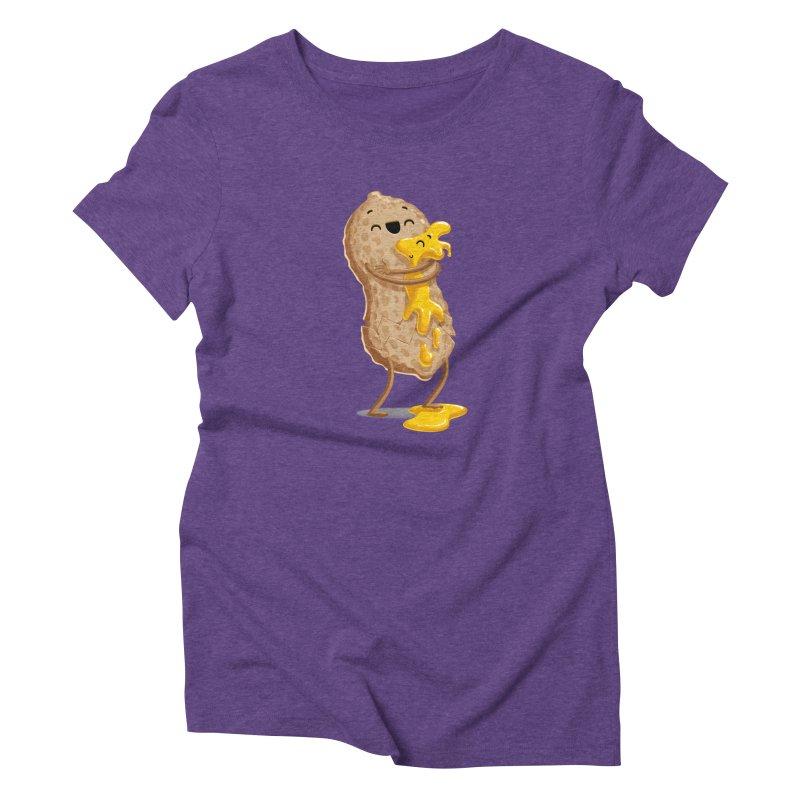 Peanut'n Butter Women's Triblend T-shirt by Tiago Möller Art Shop