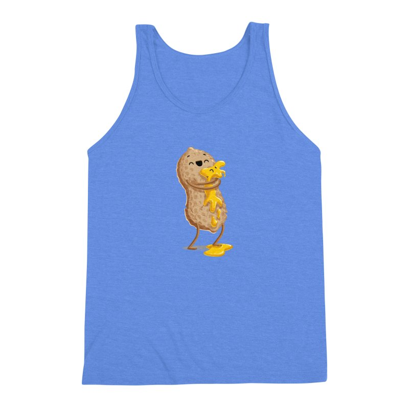 Peanut'n Butter Men's Triblend Tank by T2U