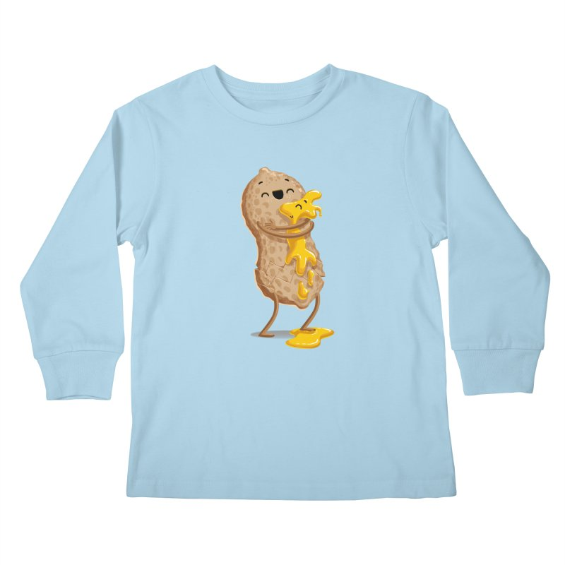 Peanut'n Butter Kids Longsleeve T-Shirt by T2U
