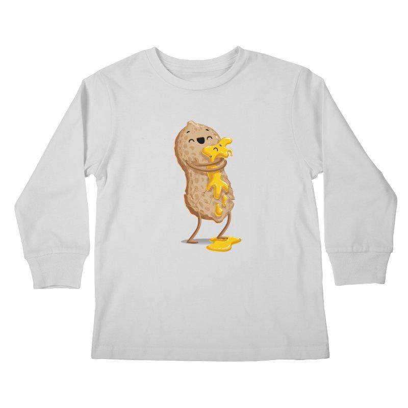 Peanut'n Butter Kids Longsleeve T-Shirt by T2U
