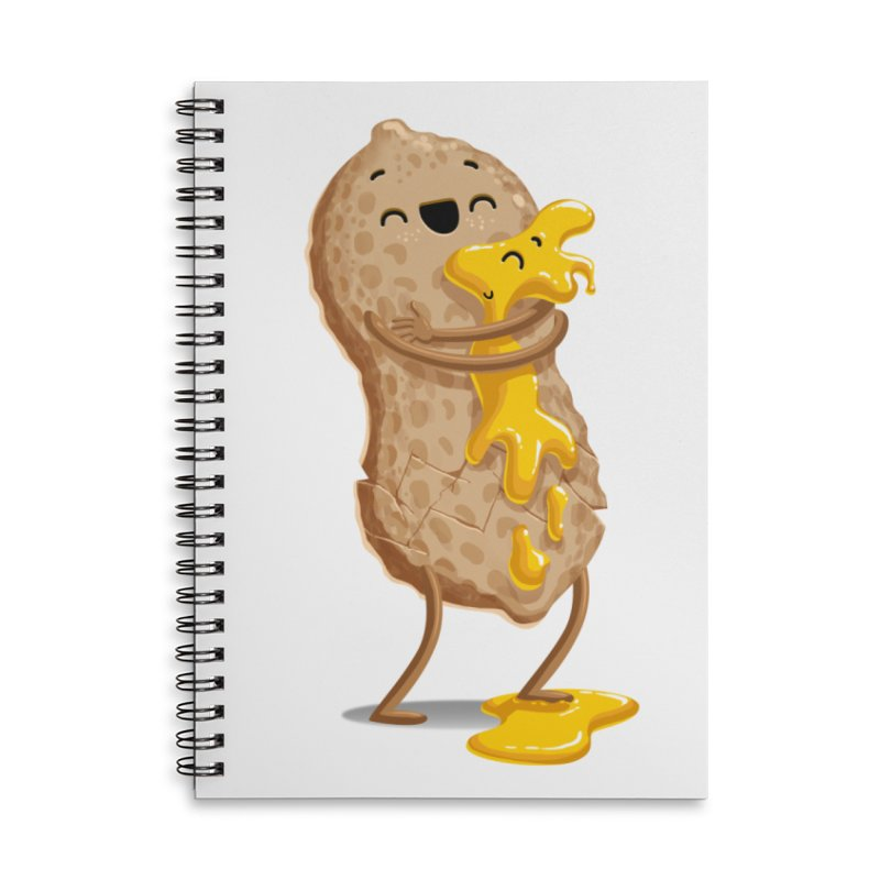 Peanut'n Butter Accessories Lined Spiral Notebook by T2U