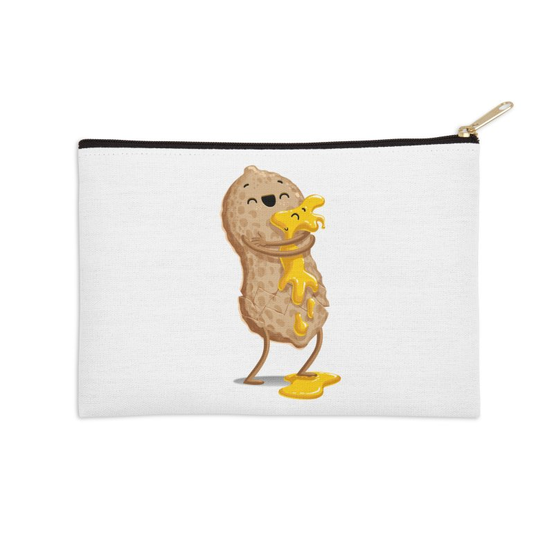 Peanut'n Butter Accessories Zip Pouch by T2U