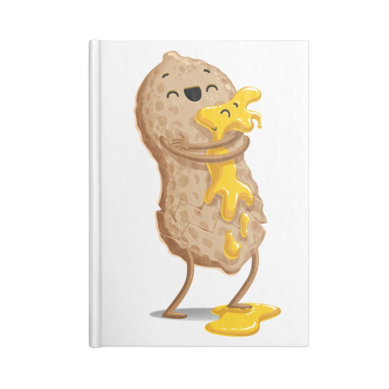 Peanut'n Butter Accessories Lined Journal Notebook by T2U