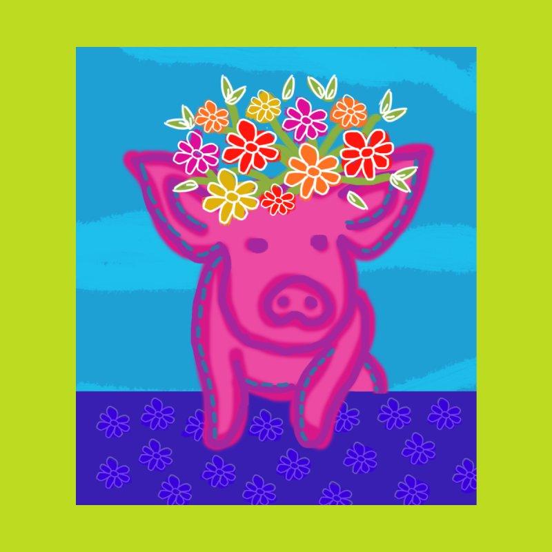 Cara's Festive Pig Accessories Mug by tiikae's Shop