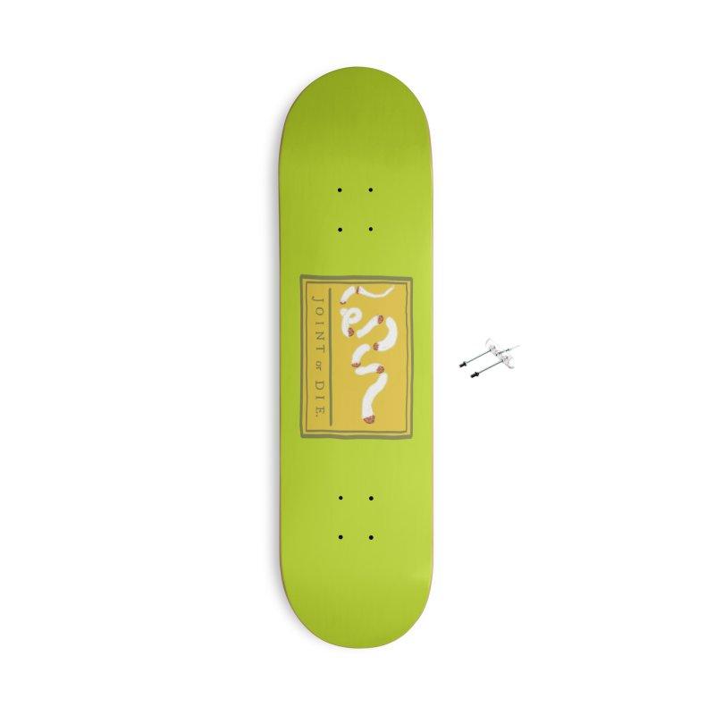 Joint or Die. Accessories Skateboard by tiikae's Shop