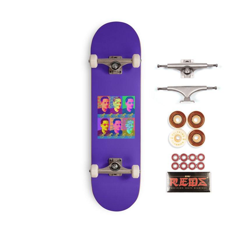Nico, Octopus King Accessories Skateboard by tiikae's Shop