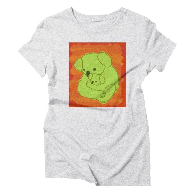 Koala with baby koala Women's T-Shirt by tiikae's Shop