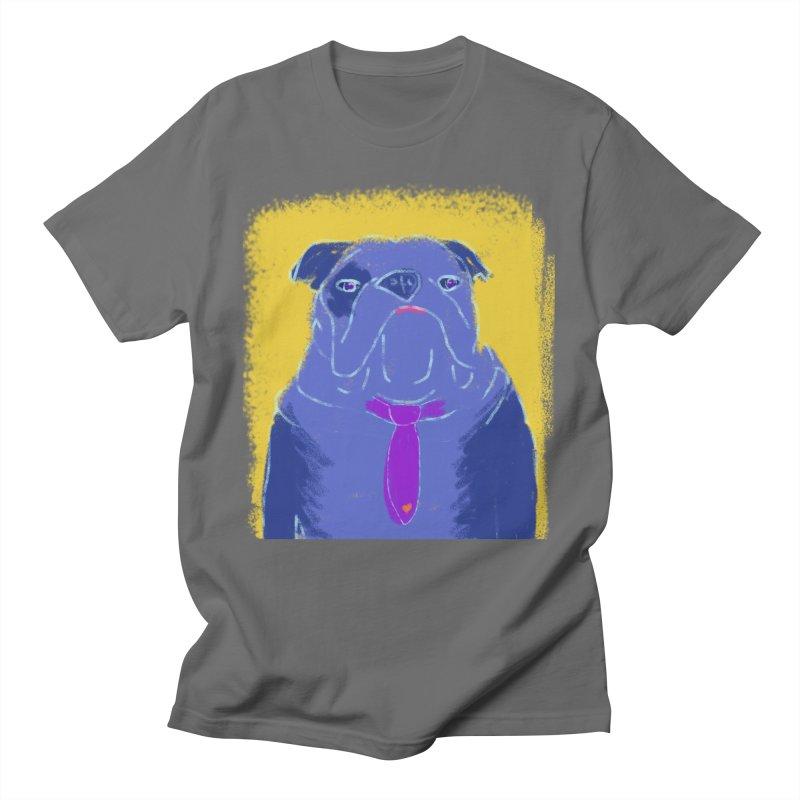 Bulldog Men's T-Shirt by tiikae's Shop