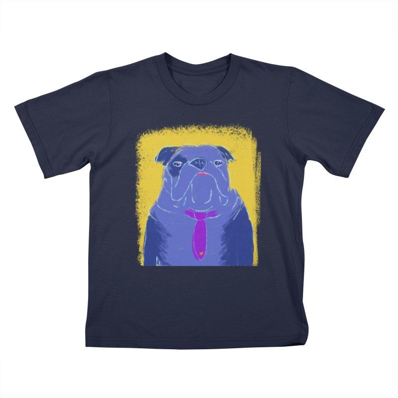 Bulldog Kids T-Shirt by tiikae's Shop