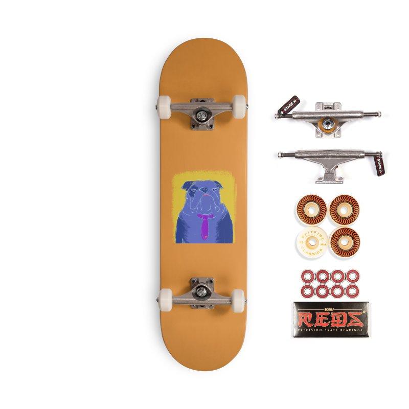Bulldog Accessories Skateboard by tiikae's Shop