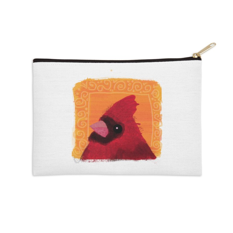 Cardinal Accessories Zip Pouch by tiikae's Shop