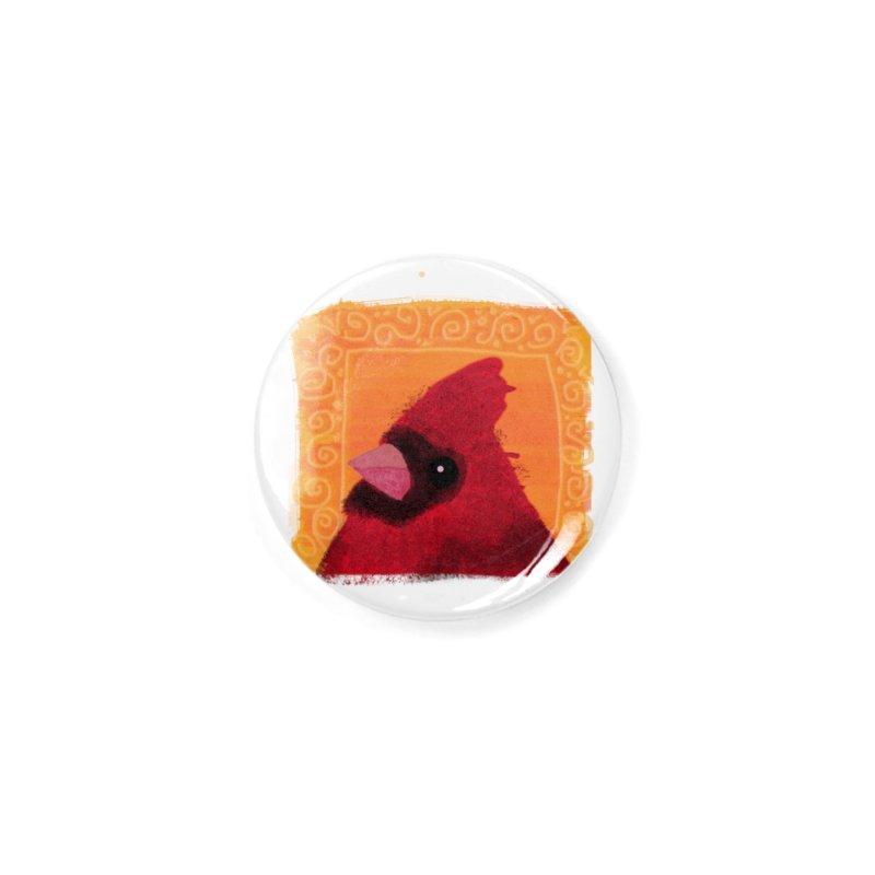 Cardinal Accessories Button by tiikae's Shop