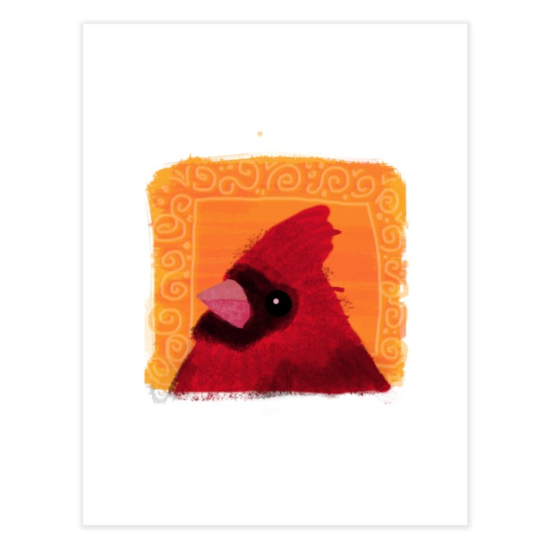 Cardinal Home Fine Art Print by tiikae's Shop