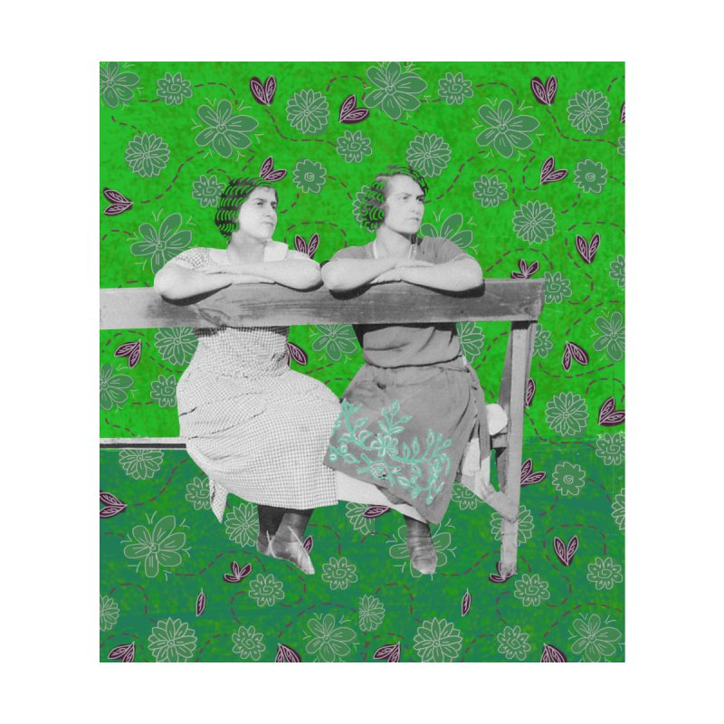 Grandma and her sister Home Blanket by tiikae's Shop