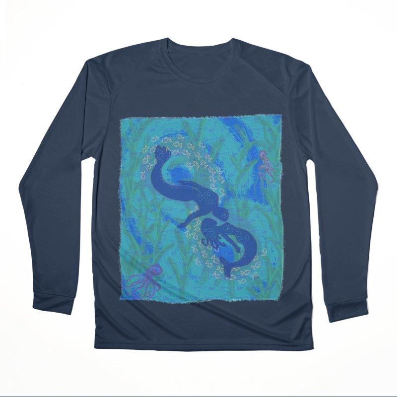 Michelle's Merpeople Women's Longsleeve T-Shirt by tiikae's Shop