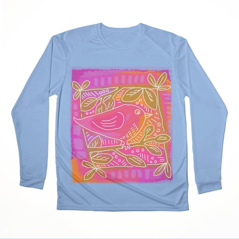 Birdie Men's Longsleeve T-Shirt by tiikae's Shop