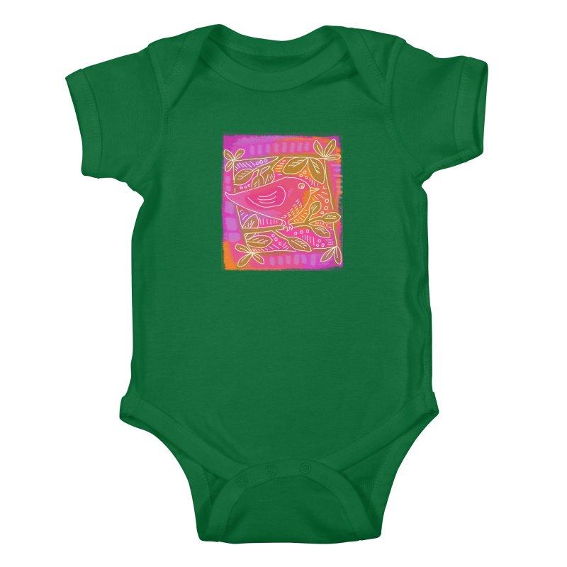 Birdie Kids Baby Bodysuit by tiikae's Shop