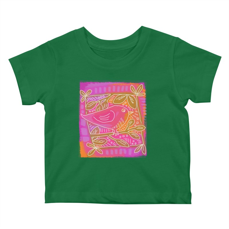 Birdie Kids Baby T-Shirt by tiikae's Shop