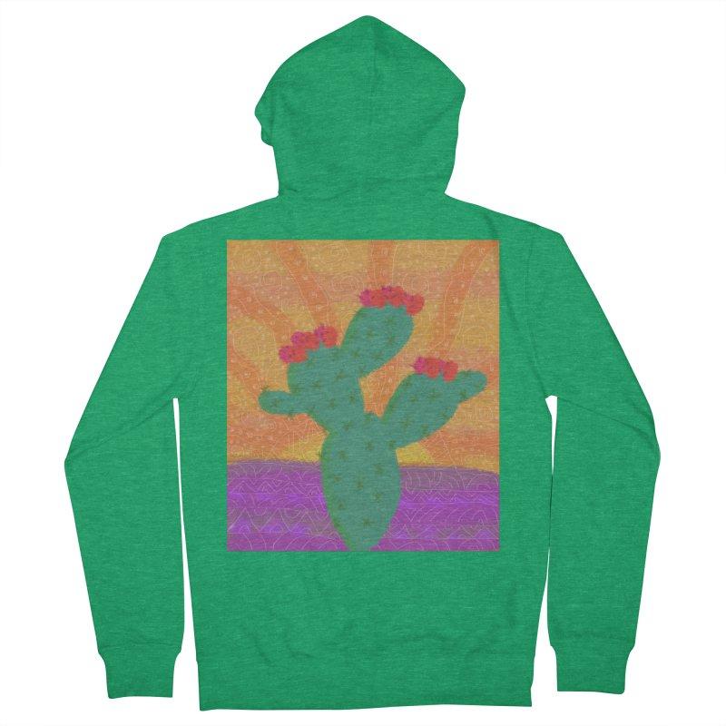 a Cactus Men's Zip-Up Hoody by tiikae's Shop