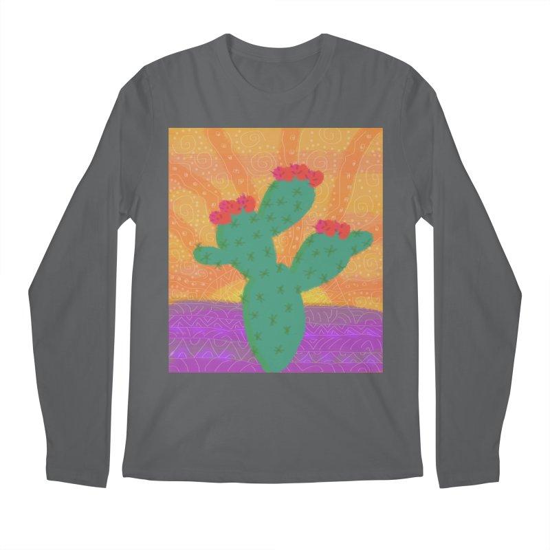 a Cactus Men's Longsleeve T-Shirt by tiikae's Shop