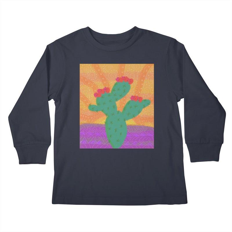 a Cactus Kids Longsleeve T-Shirt by tiikae's Shop