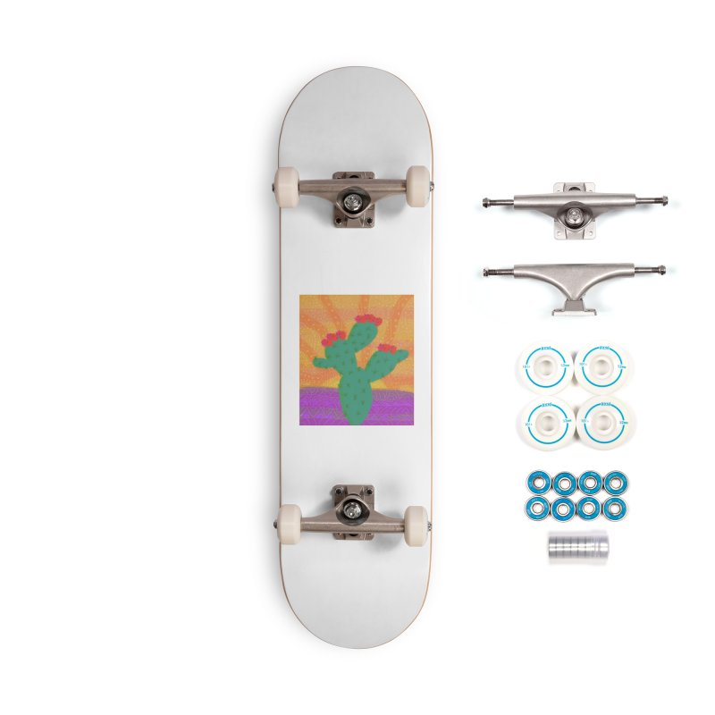a Cactus Accessories Skateboard by tiikae's Shop