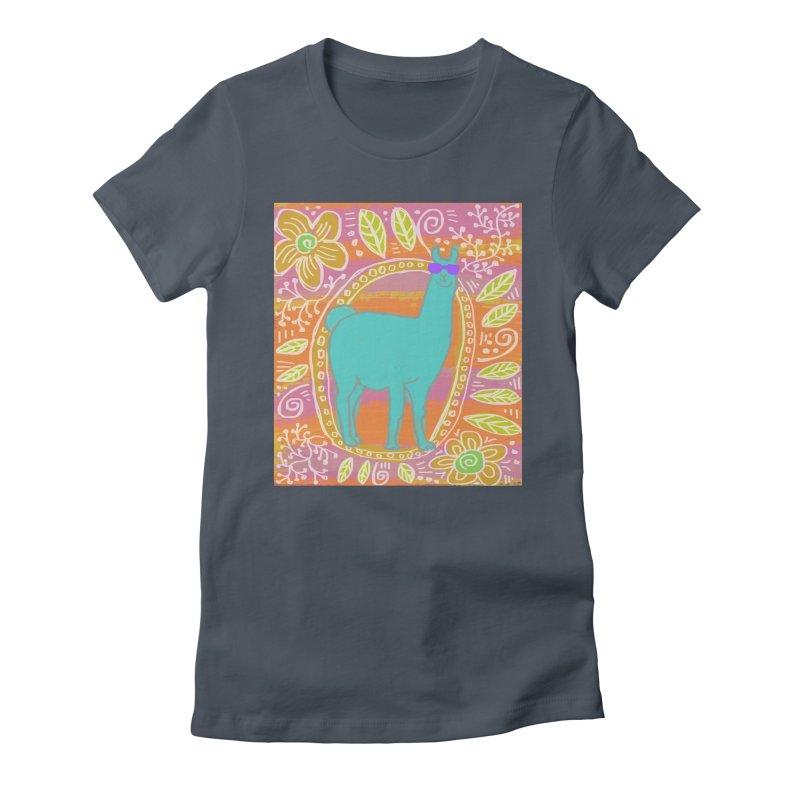 one cool llama Women's T-Shirt by tiikae's Shop