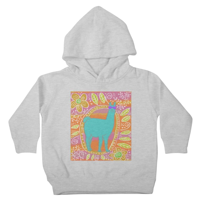 one cool llama Kids Toddler Pullover Hoody by tiikae's Shop