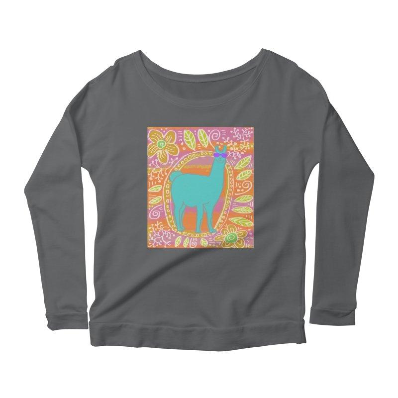 one cool llama Women's Longsleeve T-Shirt by tiikae's Shop