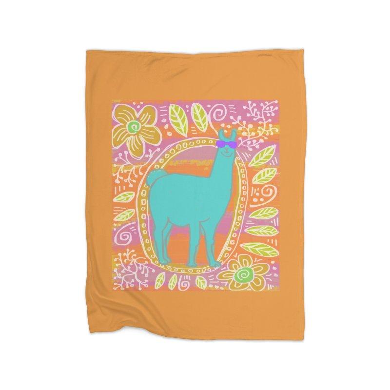 one cool llama Home Blanket by tiikae's Shop