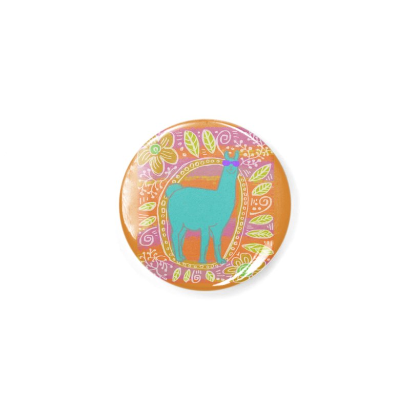 one cool llama Accessories Button by tiikae's Shop