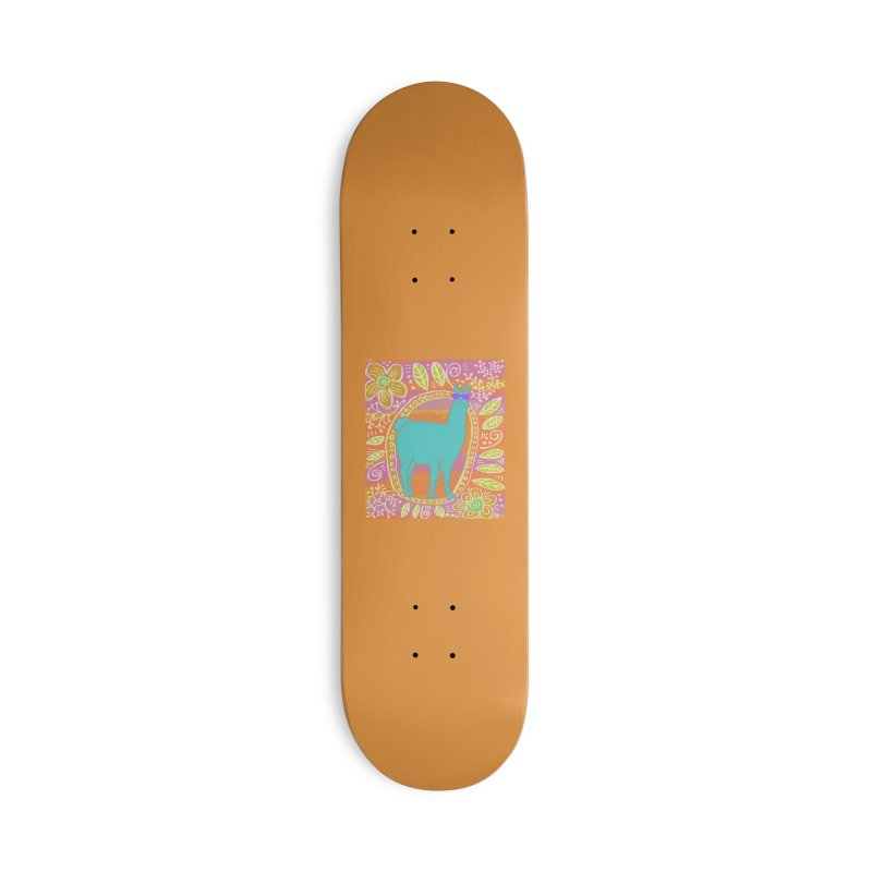 one cool llama Accessories Skateboard by tiikae's Shop