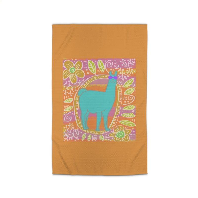 one cool llama Home Rug by tiikae's Shop
