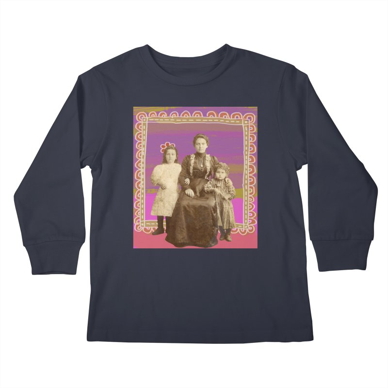 Grandma Kids Longsleeve T-Shirt by tiikae's Shop